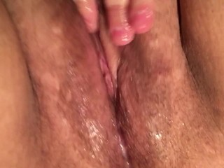 Cum over and over and over again
