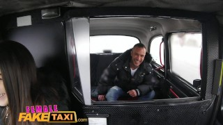 Cabbie sexy in body garage fucked great femalefaketaxi with sex oral