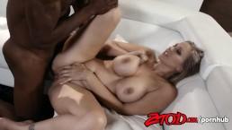 Busty Blonde Julia Ann Gets Fucked Interracially