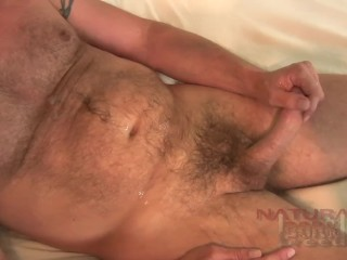 Furry Otter AJ Jerks his cock for Cash