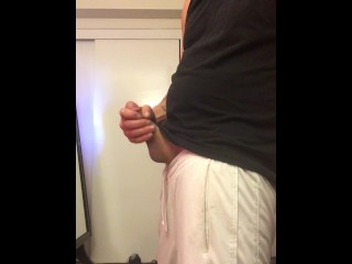 average dude with average cock plays by himself