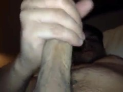 jerking off my hard cock