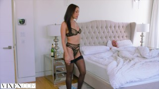 VIXEN An Irresistible Assistant Fufills Her Fantasy porno