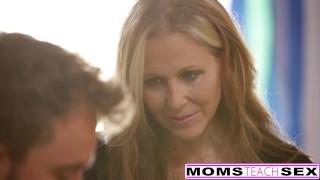 Threeway julia with teen milf stepson ann creampie mom son