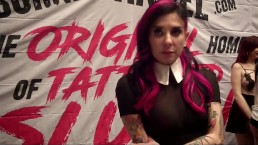 Joanna Angel w/ Jiggy Jaguar AVN Expo 2017