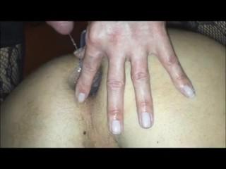 Shemale Tranny German fuck wet ass homemade bearback piss creampie.