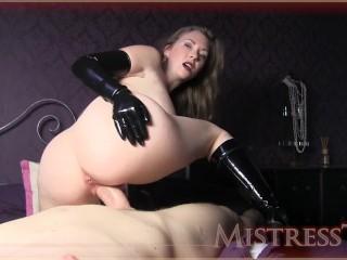 Mistress t bottss latex...
