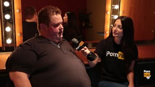 Pornhub Aria Gets Nasty with Comedians Paula Bel & Mike Ward & Ralphie May Face interracial