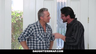 DaughterSwap - Naive Teenagers Tricked Into Fucking Their Dads Cum sex