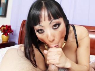 BACKSIDE Asian Whore POV Anal hard Ass Fucking