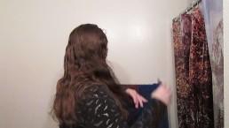 Hair Journal: Combing Long Curly Strawberry Blonde Hair - Week 7 (ASMR)