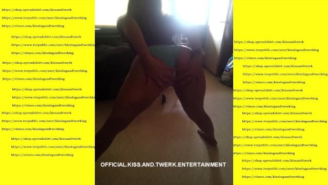 Girls gitting ass fucked - Sexy freak girl twerking her ass then gets fucked