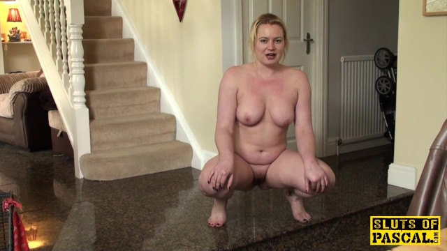 Pee potty squat undies Pissing uk slut squats and wets the floor