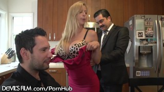 horny cougar alexis fawx enjoys a hot women