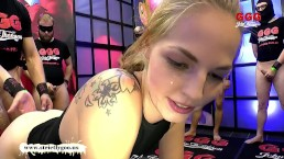 Monster Lul doet jonge Bibi kreunen - German Goo Girls