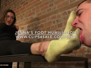 Jenna's Foot Humiliation - www.c4s.com/8983/16991244