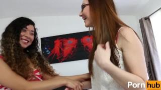 Amateur Lesbian Audition - Scene 1