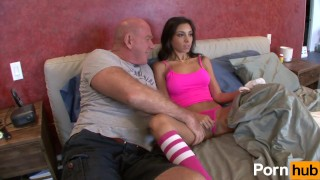 My hes  scene relax stepdad cock daughter