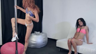Lilly the two on hot are pole susana portuguese and lesbians portuguese european