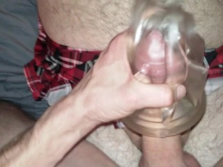 2 Dicks 1 Fleshlight