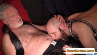 Polar bear breeding bald chubs tight ass Ass uncut