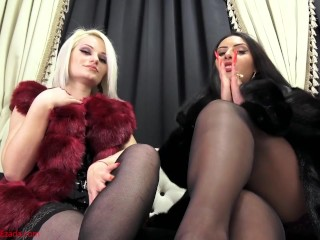 Our addicted nylons bitch