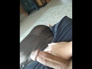 Cumming really fast