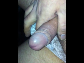 chav caught naked wanking and pissing outdoors