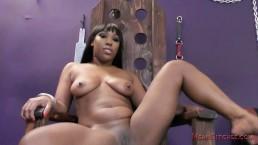 Kiss My Ebony Ass & Feet, Whiteboy - Cher Adele Femdom JOI