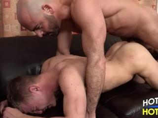 Daddy Adam Russo fucks lad Joseph Rough