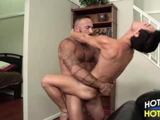 Daddy Alessio Romero fucks Tyler Morgan
