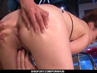 Serious toy porn scenes for amazing Mami Yuuki