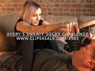 Nikita mirzani - Avery's Sweaty Socks Challenge - www.c4s.com/8983/17128220