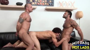 Daddy Son 3-Way Jake Deckard & Rogan Richards & Austin Merrick