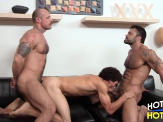 Daddy Son 3-Way Jake Deckard & Rogan Richards & Austin Merrick