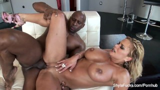 Cock shyla takes real estate black busty agent bbc big