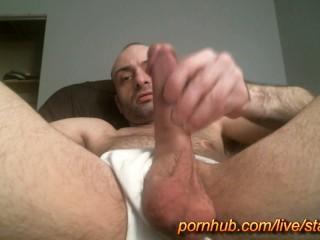 Starman X - Jacking off big cock