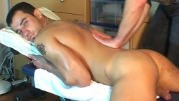 Fab A innocent delivery guy serviced his big cock