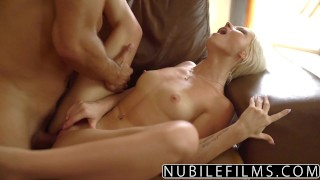NubileFilms - Hot Sex With My Best Friends Daughter Ass mick