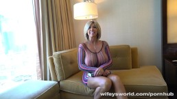Big Titty MILF Gets Drilled In Vegas