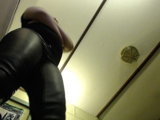 GTS POV Leather Pants Talking Dirty