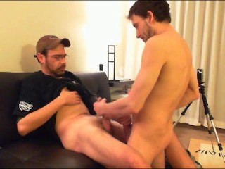 BI Bro Sex Strokin and suckin Hung Cock-prt1