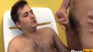 hairy motherfuckers 3 - Scene 2 Jerking bareback