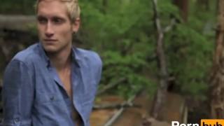 Scene and  covet desire outside blonde