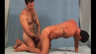 Hairy Studs Video vol 1 - Scene 3