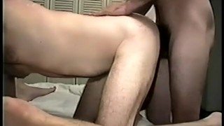 Cocks scene  and big bareback daddy ring