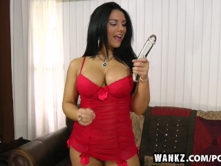 WANKZ- Bella Reese Enjoys Playing Hard with Herself