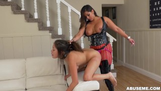 Latina strapon a spicy samantha parker with dominates camgirl j ass j