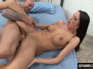 Hot girl fucked in front of her husband