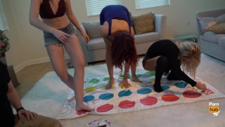 Pornstars Play Twister! With Alix Lynx, Jayden Cole and Samantha Rone Babe maid